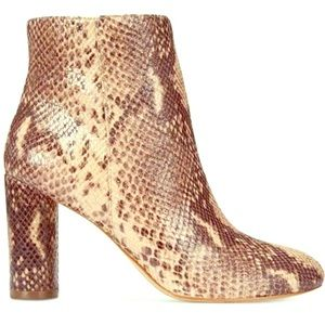 Cute snake print boots size 5